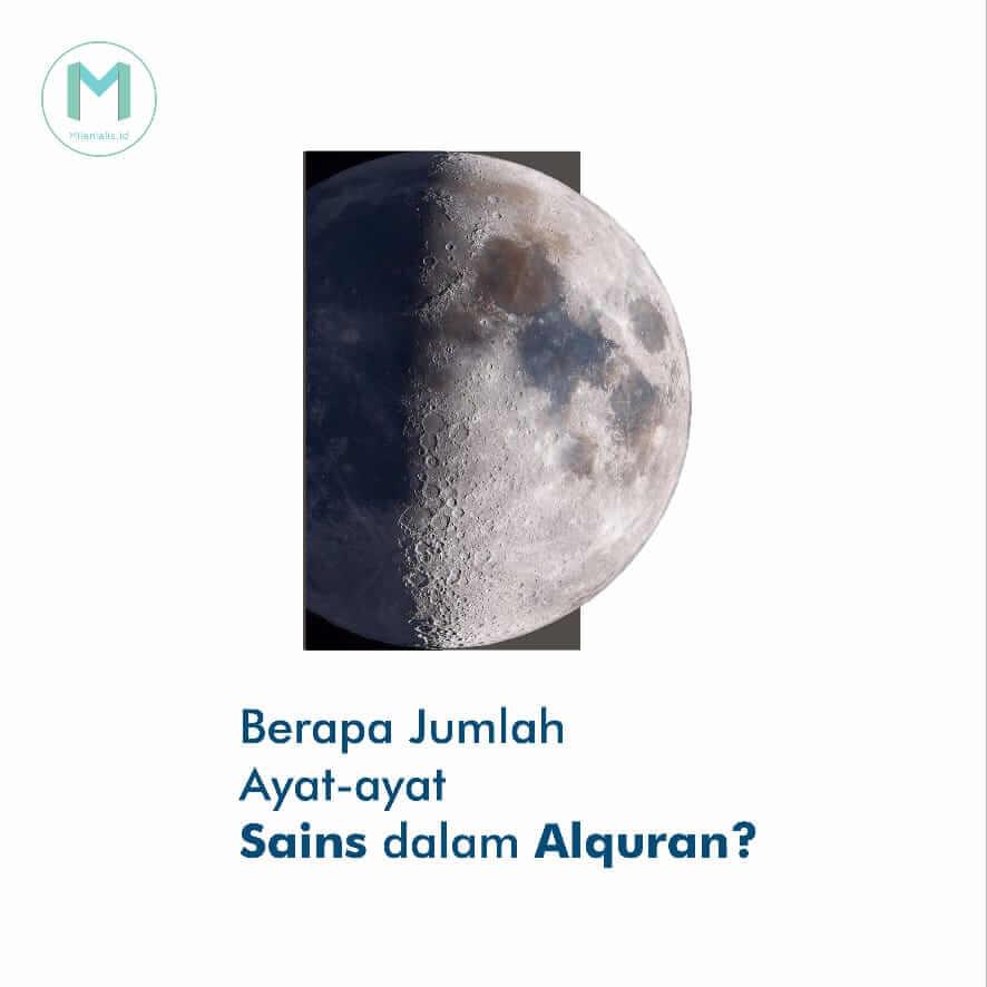 Berapa jumlah ayat-ayat sains dalam Al-Qur'an