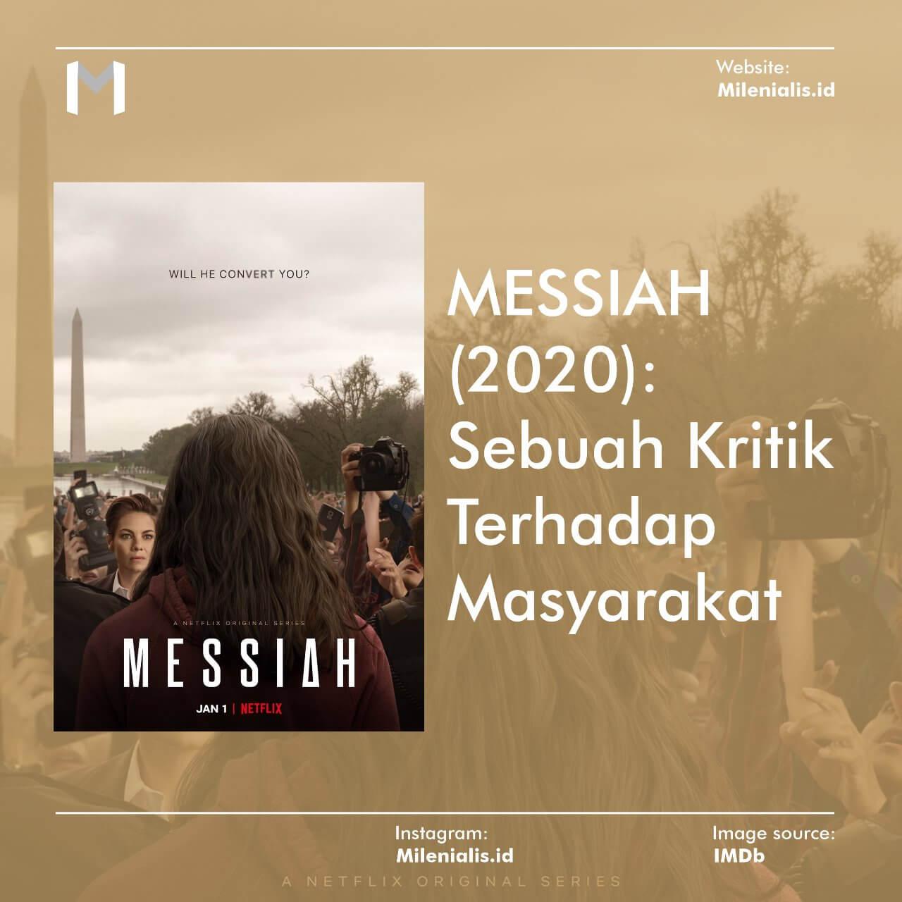 Film Messiah (2020) Sebuah Kritik Terhadap Masyarakat
