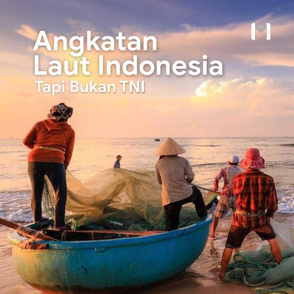 Angkatan Laut Indonesia, Tapi Bukan TNI