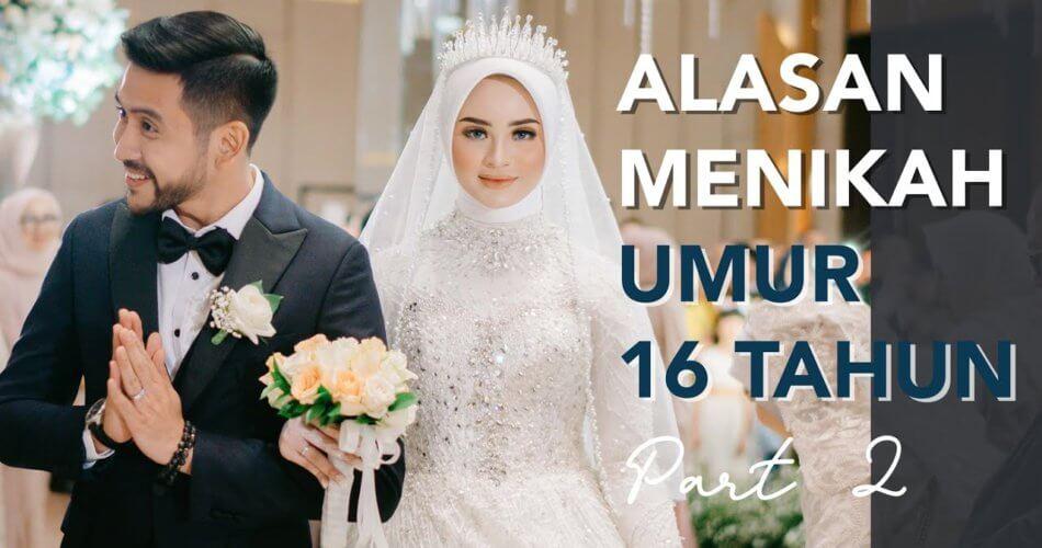16 tahun berani nikah