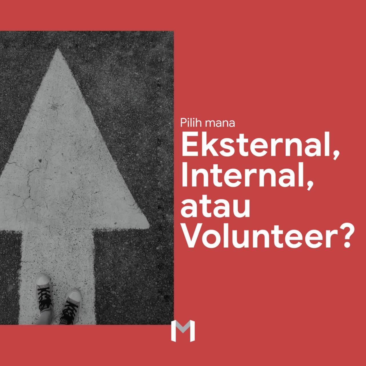 Pilih Mana: Organisasi Eksternal, Organisasi Internal, atau Volunteer?