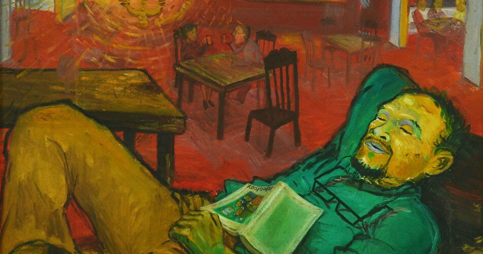 Dibalik Tulisan Wah, Ada Sekelumit Perjuangan di Dalamnya-Goenawan Muhamad | sidharta-auctioneer.com