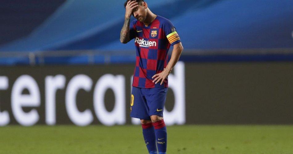 Messi pindah klub