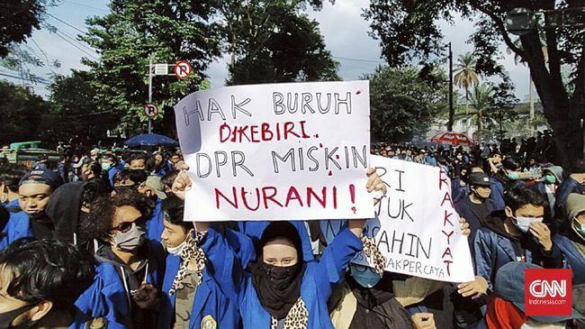 Merayakan Kembali Sikap Kritis Mahasiswa/ CNN Indonesia