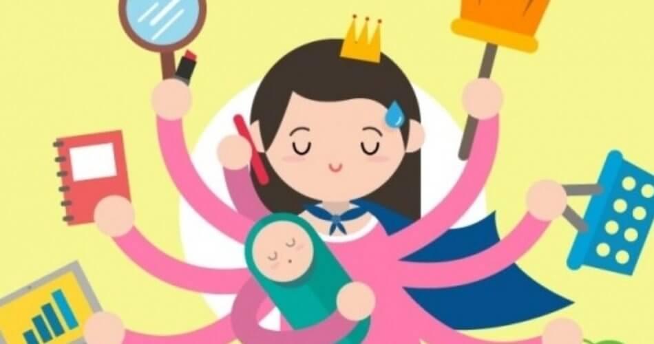 Jangan Salah, Ibu yang Bekerja di Rumah Juga Hebat