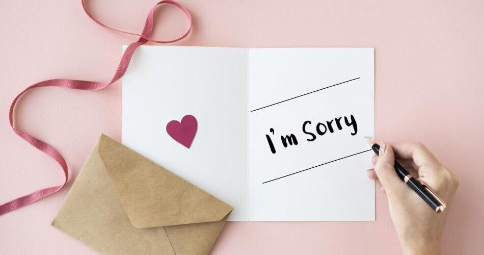 Beberapa Cara Meminta Maaf Secara Tidak Langsung