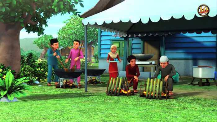 Warga Kampung Durian Runtuh